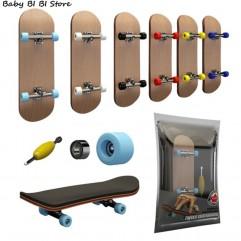 Finger SkateBoard Wooden Fingerboard Toy Professio...