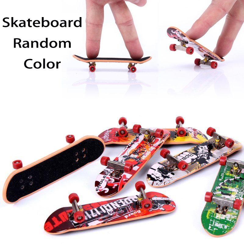 Children Finger Skateboards Skate Toy Skate Park Ramp Set Tech Practice Deck Funny Interior Extreme Sport Fingers Training Toys